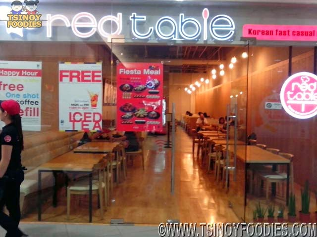 red table korean fast casual
