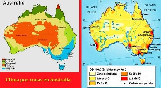 clima poblacion australia