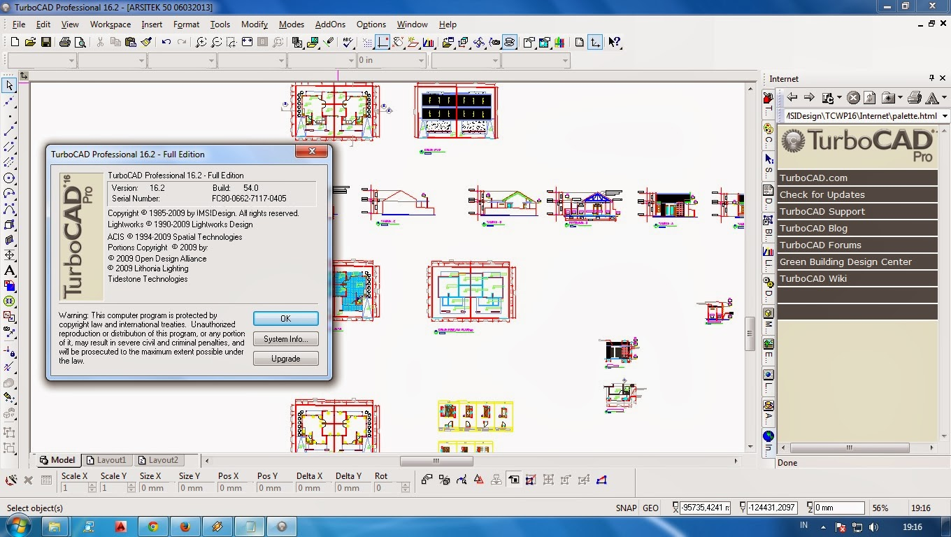 U ud c t download turbocad professional platinum for Turbocad drawing template