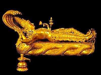 tesoro templo vishnu