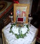 Ιερά Λείψανα Αγίων Κυπριανού & Ιουστίνης