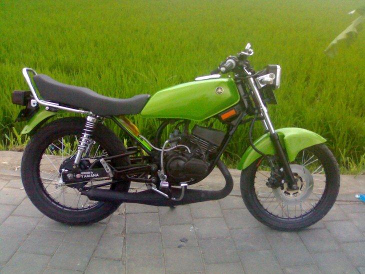 kumpulan modifikasi motor rx king warna hijau