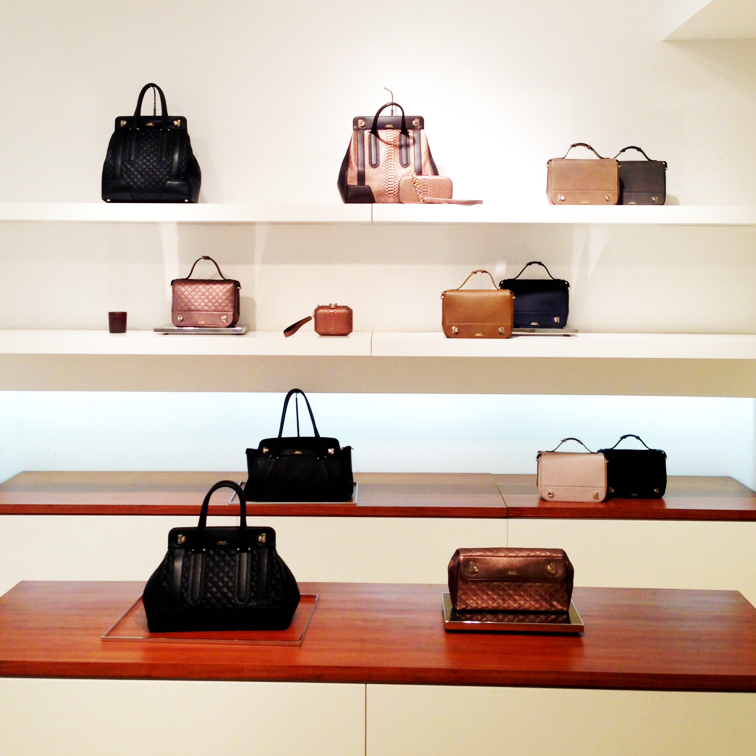 BALLY SWITZERLAND NYC SHOWROOM LEATHER GOODS