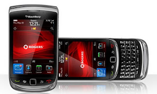 BlackBerry Torch 9800 for Rogers now available