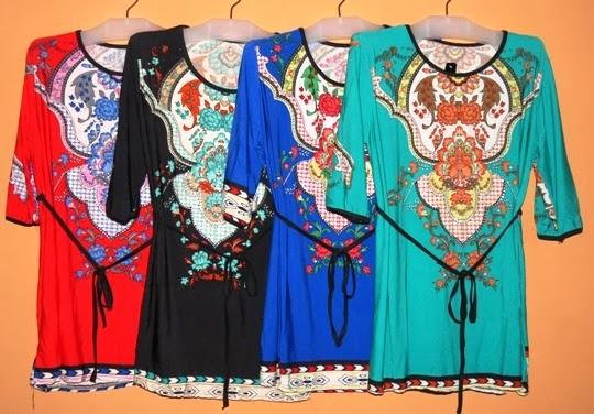 ... baju korea murah harga pabrik BKM2062 - Grosir Baju Muslim Murah Tanah