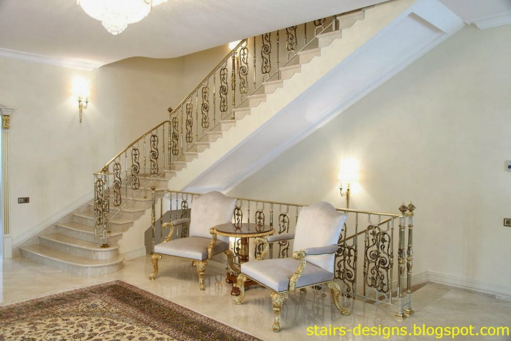48 interior stairs stair railings stairs designs for Interior staircase designs