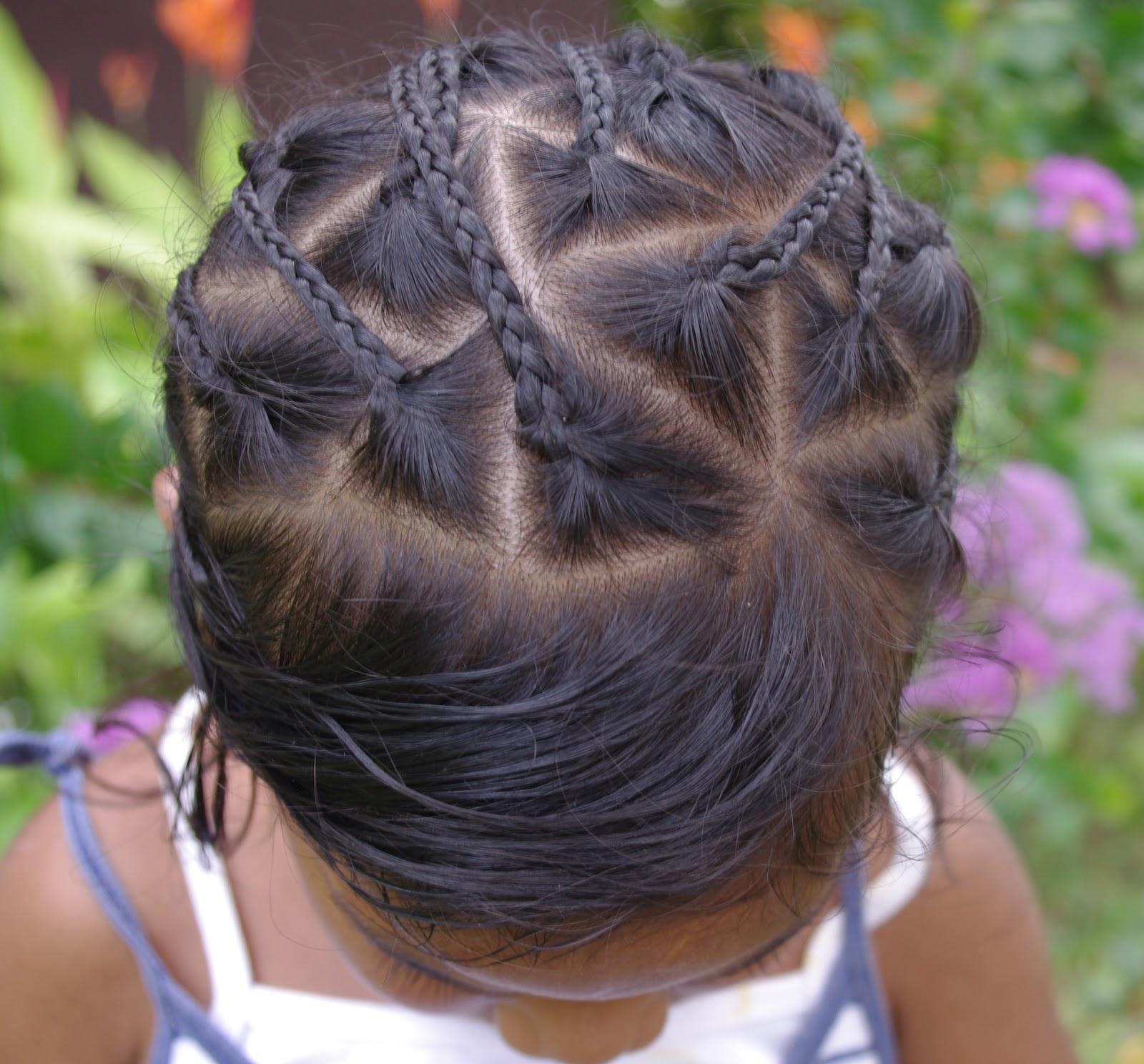Braids & Hairstyles for Super Long Hair: Micronesian Girl~ Star Braids