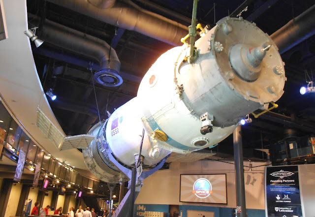 russian space capsule at leicester space centre via lovebirds vintage