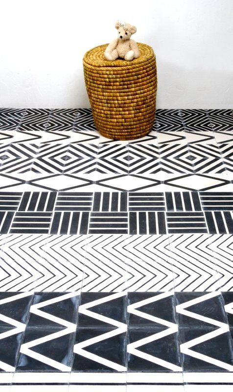 Anny trend tiled floors love those patterns - Tegelvloer patroon ...