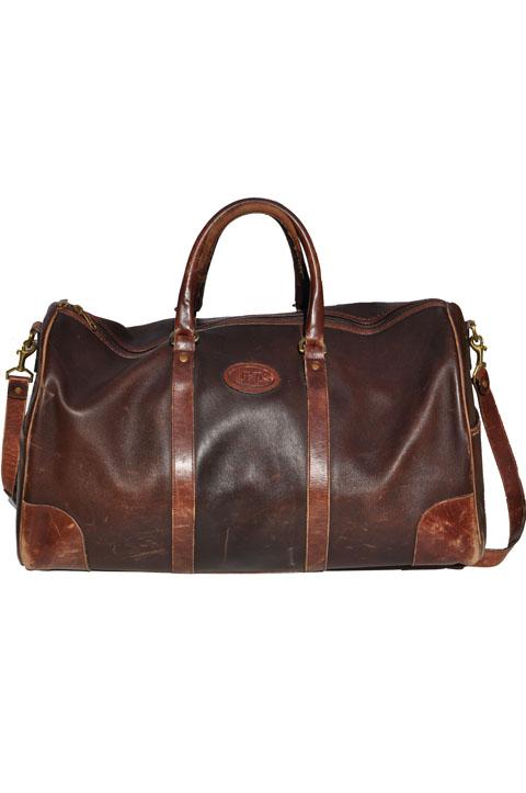 goodbye vintage vintage leather duffel bag tote