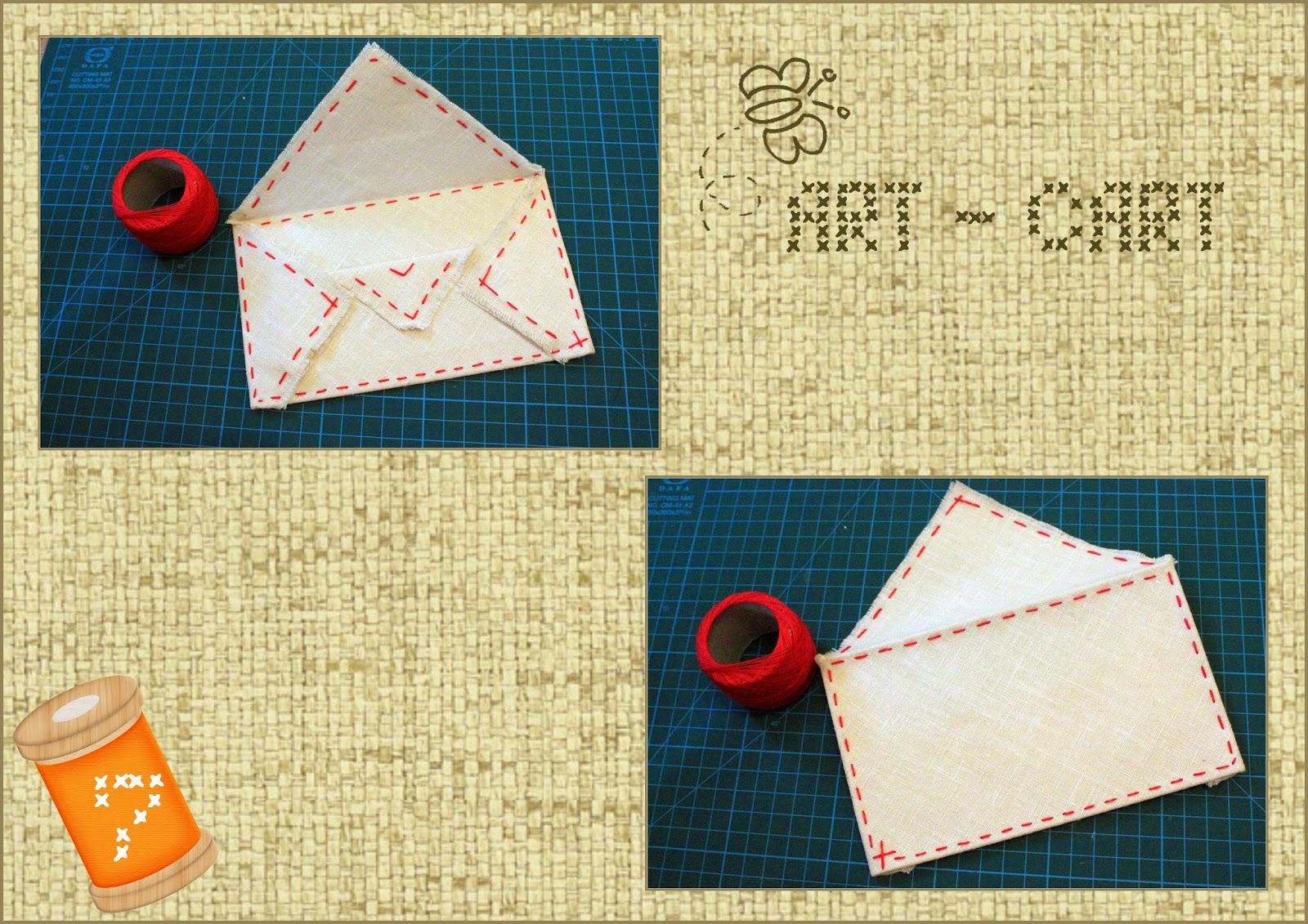 Украшение на конверт своими руками из