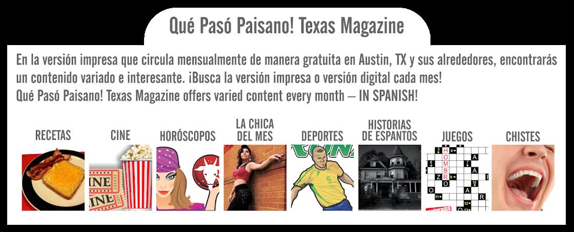 ¿Qué hay en nuestra revista?