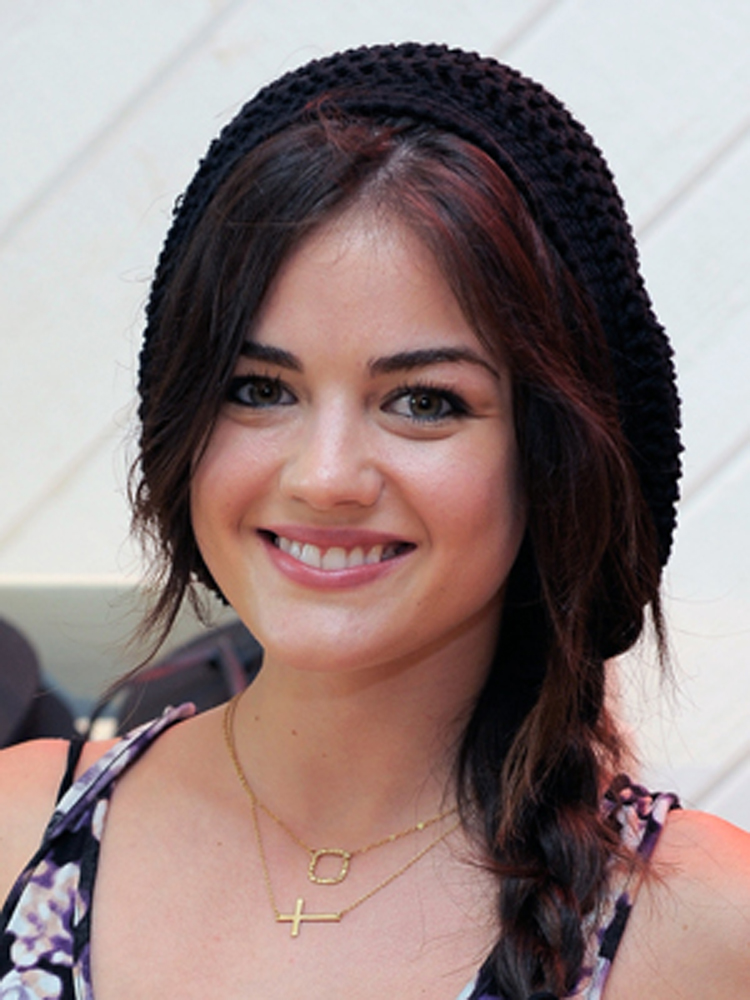 Lucy Hale Brunette Hairstyles