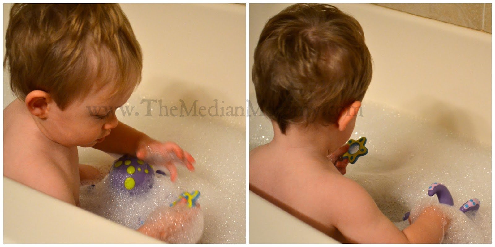 Nüby Bath Time: Octopus Floating Bath Toy (Review) - lo-wren