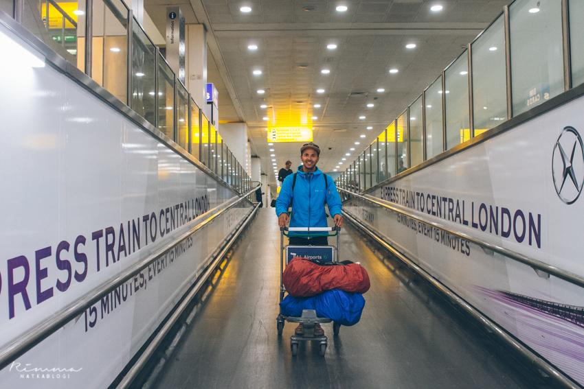 Lontoo airport