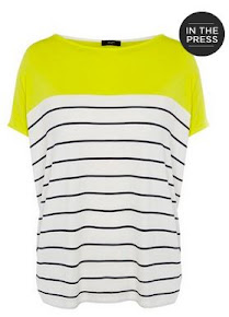 Block stripe tshirt