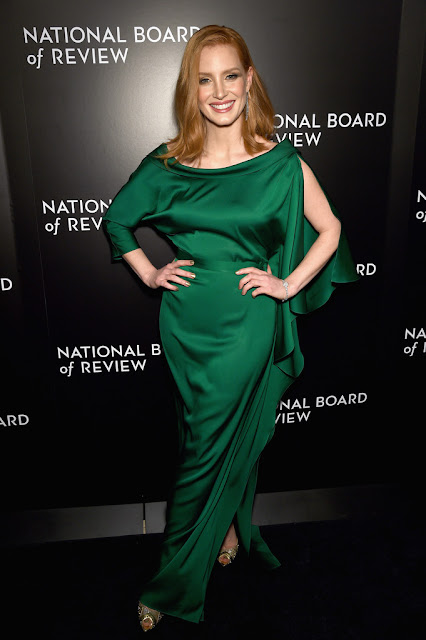 Actress, @ Jessica Chastain - National Board of Review Gala in NYC