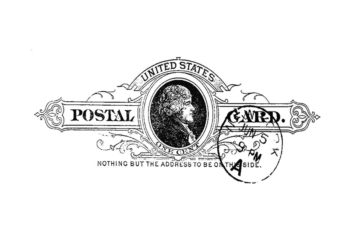 Malowany kokon postal card for Villas isza