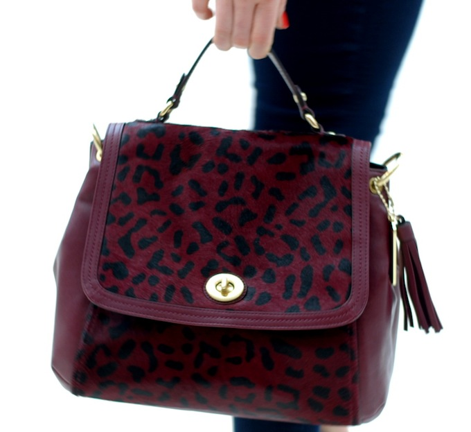 Coach Bleecker Leopard handbag Covet and Acquire