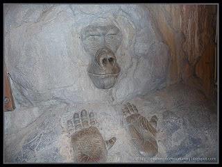 gorilla carving