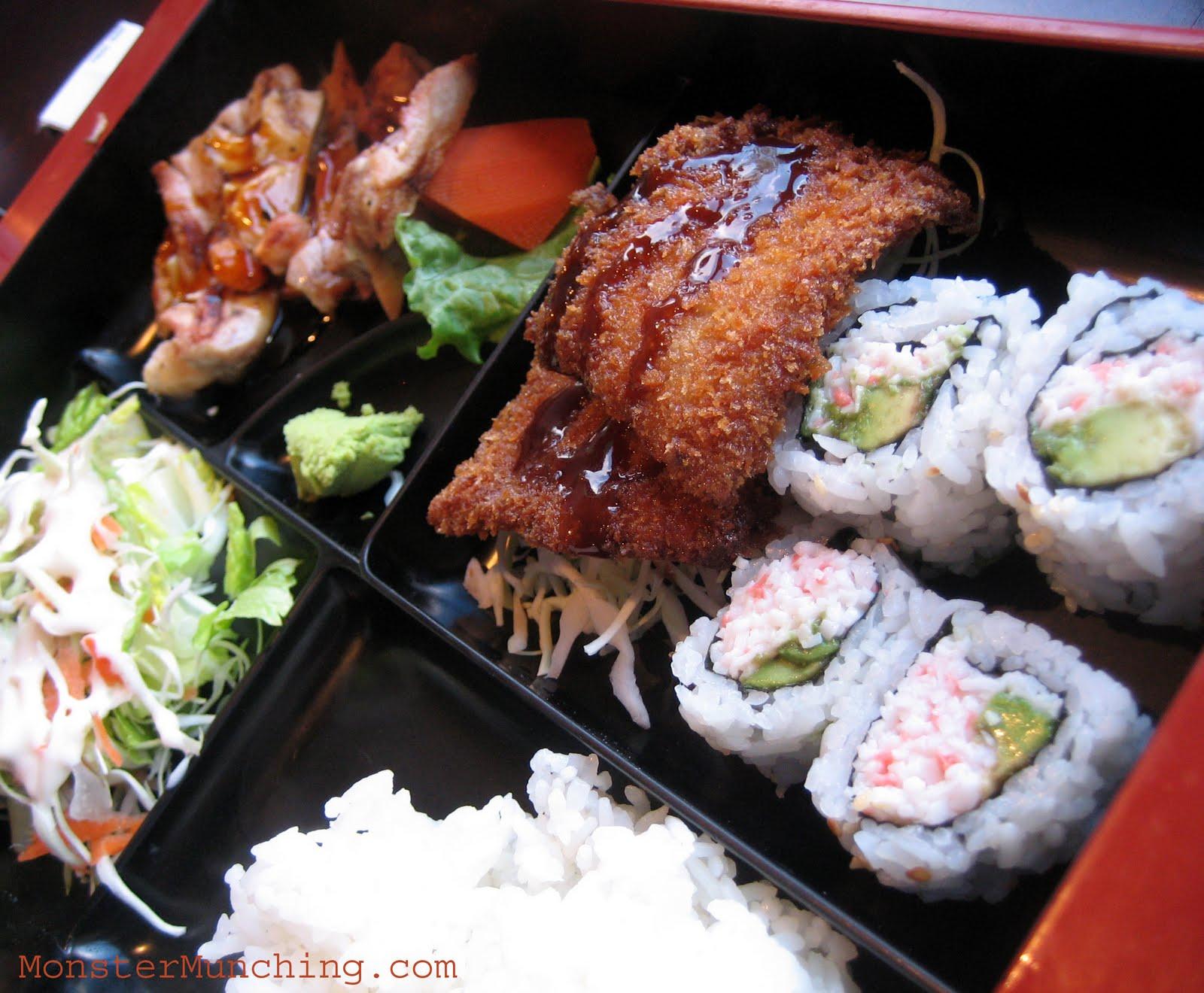 monster munching ichiban sushi downey. Black Bedroom Furniture Sets. Home Design Ideas