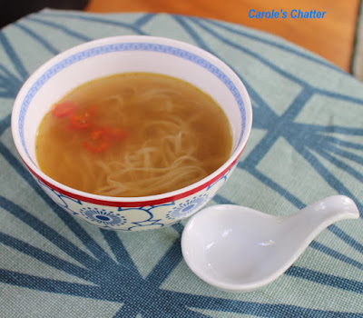 Carole's Chatter: Home made chicken noodle soup
