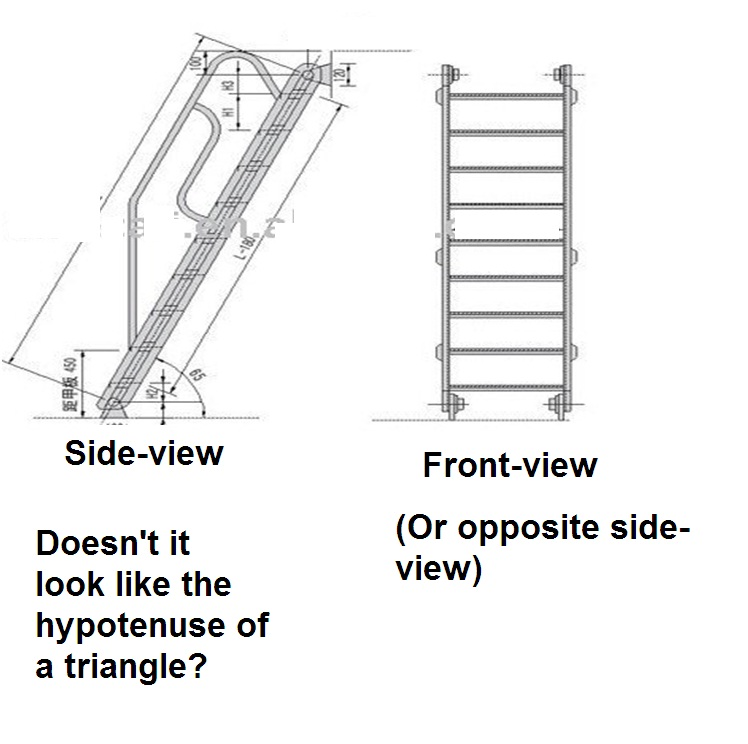 how to find opposite with hypotenuse and angle