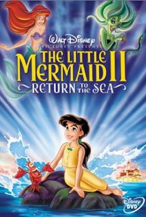 DVD cover The Little Mermaid 2 2000 disneyjuniorblog.blogspot.com