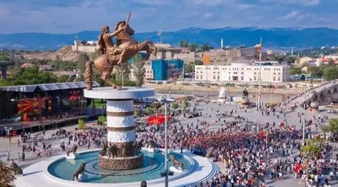 Τα Σκόπια γκρεμίζουν τα αγάλματα του Μεγάλου Αλεξάνδρου – «Απολύμανση από την ψευδοϊδεολογία»