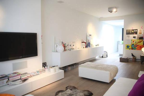 Te koop op immoweb moderne stadswoning in hasselt maison20 - Afbeelding eigentijdse woonkamer ...
