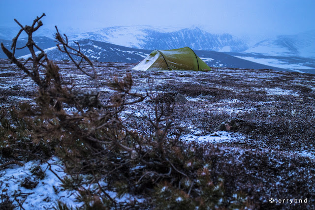 Wild camping, Scotland, Force Ten Nitro Lite 200