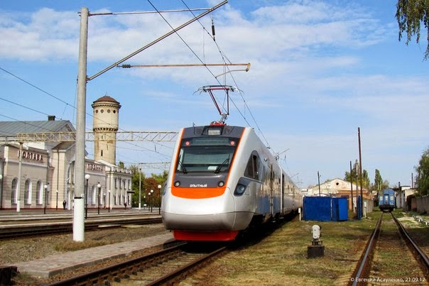 Скоростной поезд «Киев-Одесса»