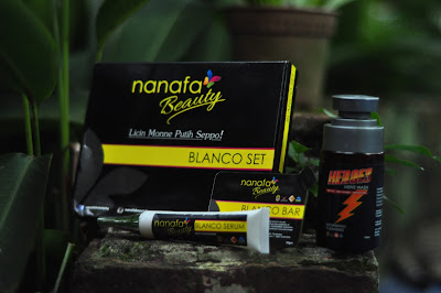 nanafa beauty blanco set