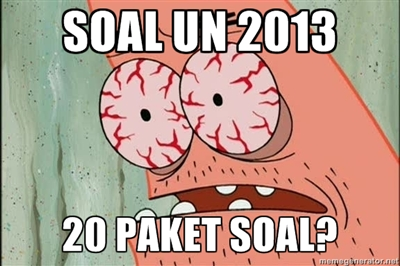 Soal UN SMA 2013 Lengkap