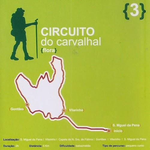 Circuito do Carvalhal: flora