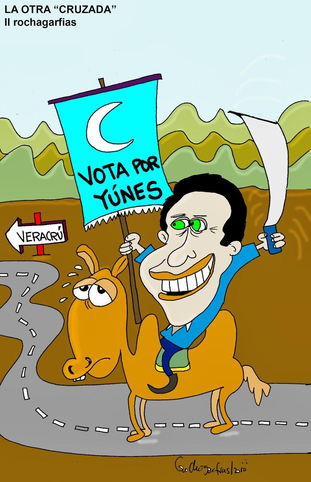 Yùnes hacia Veracruz: cruzada árabe