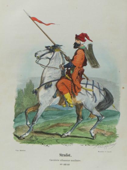 Stradiot,Cavalerie Albanaise auxiliaire