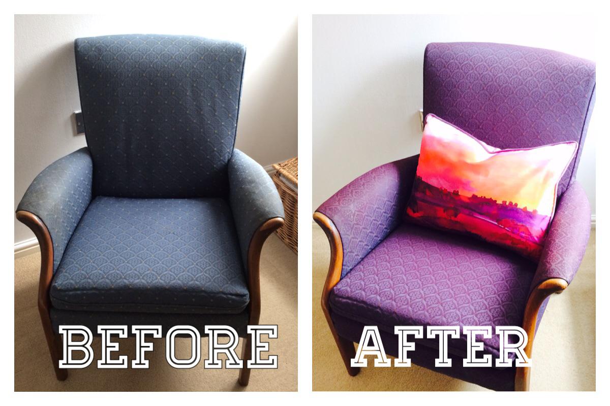 upholstery paint spray
