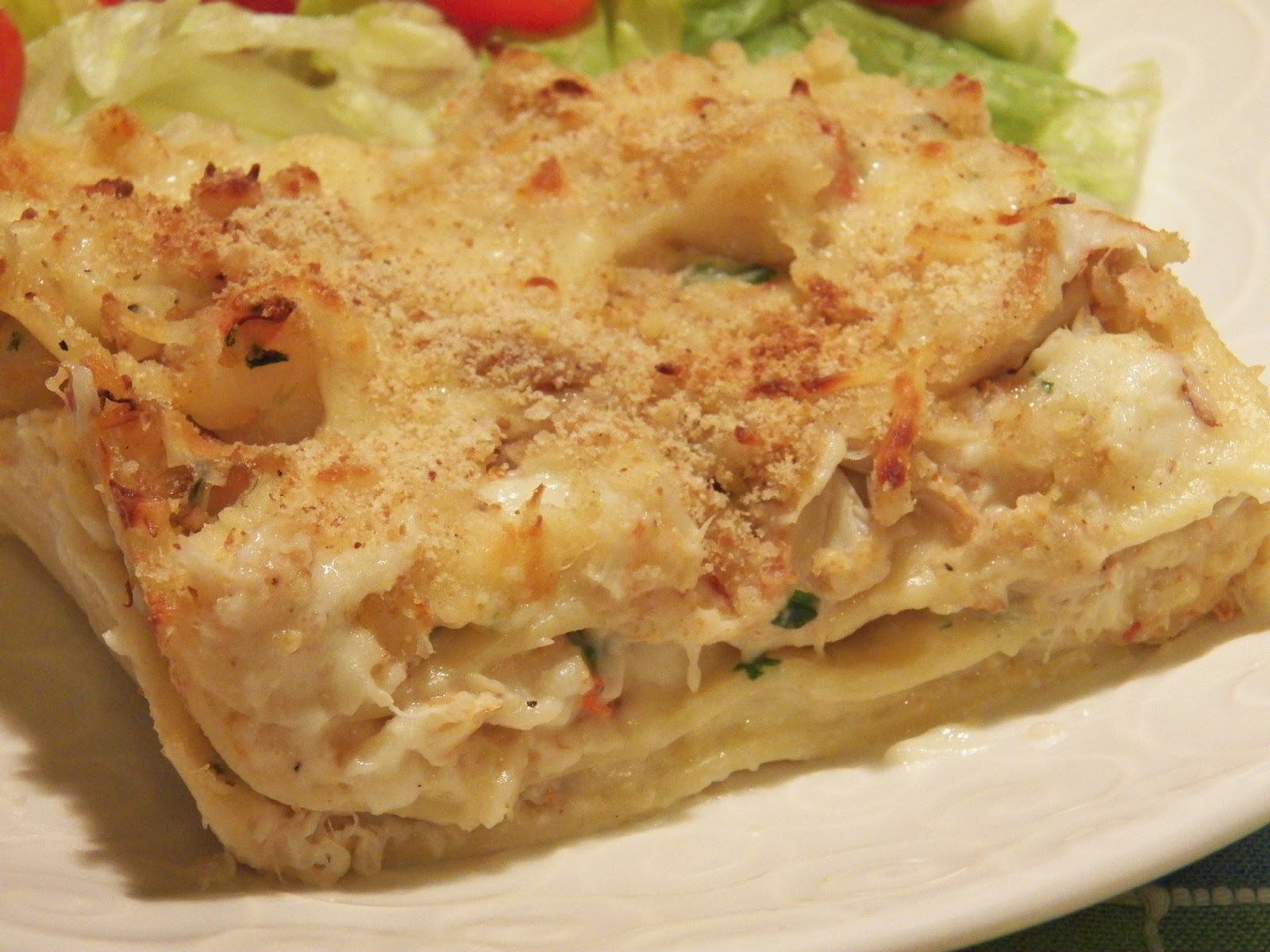 Seafood Lasagna | In Good Flavor | Great Recipes | Great Taste