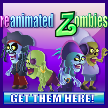 Re-Animated Zombies - Fully Animated Game Characters