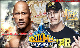 WrestleMania 29 » Matches » The Rock vs. John Cena (WWE Championship) Guest Post By Ankit Singh