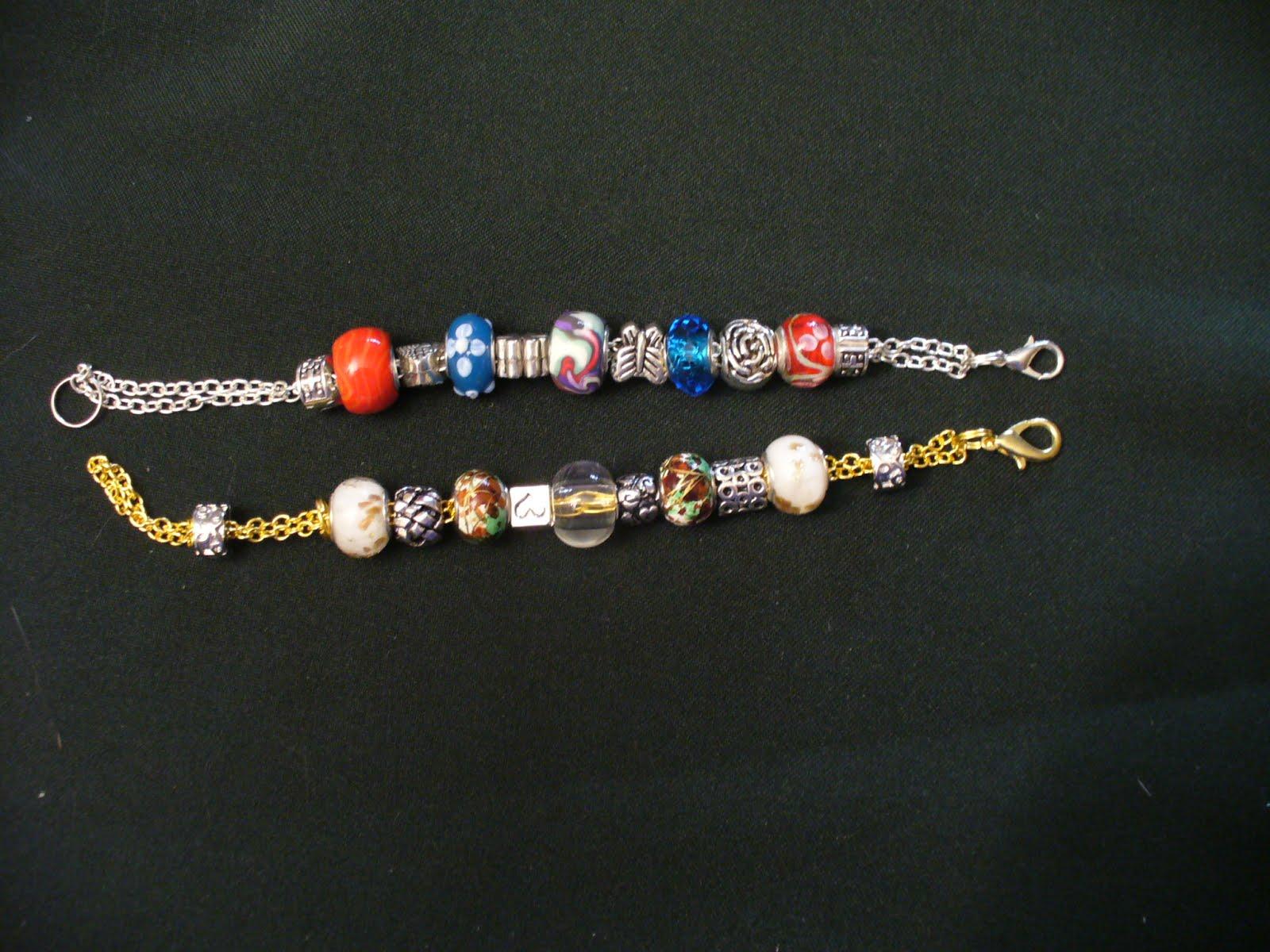 Bransoletki modułowe / Pandora style bracelets