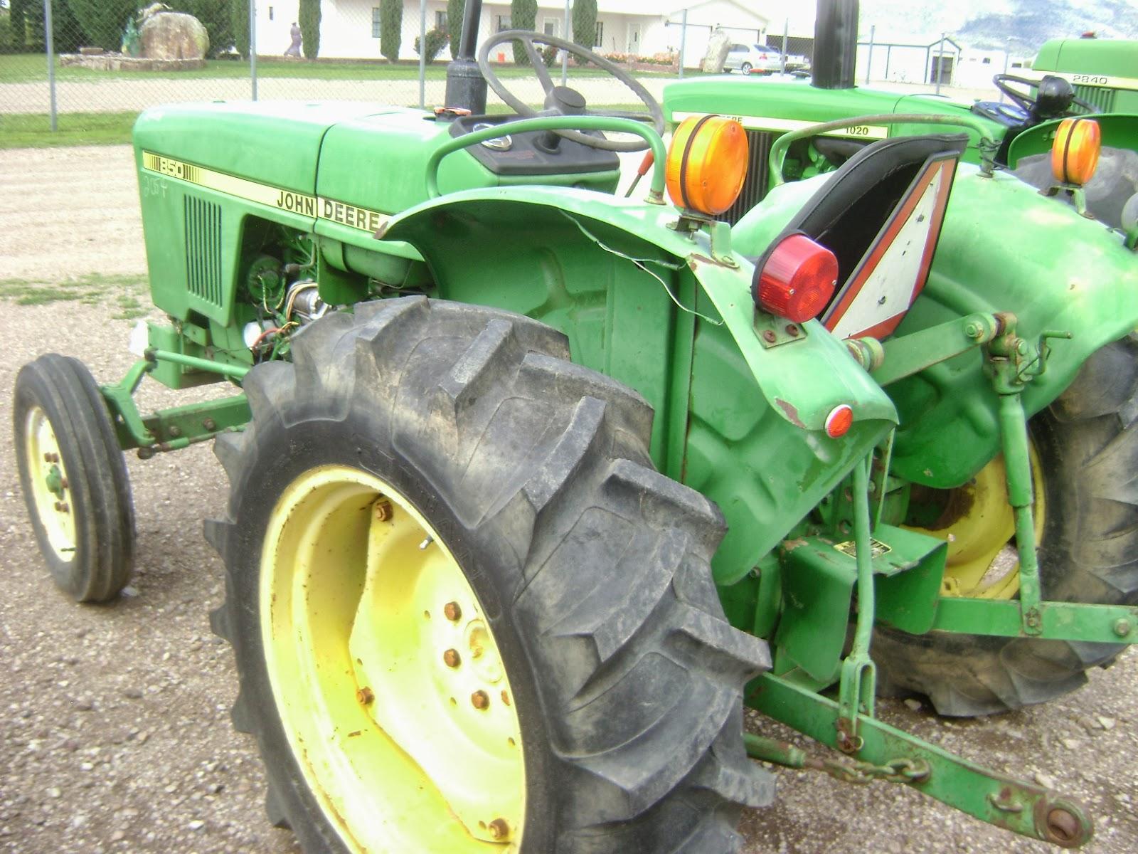 John Deere 850 Tractor Seat : Tractor huertero john deere dlls gano