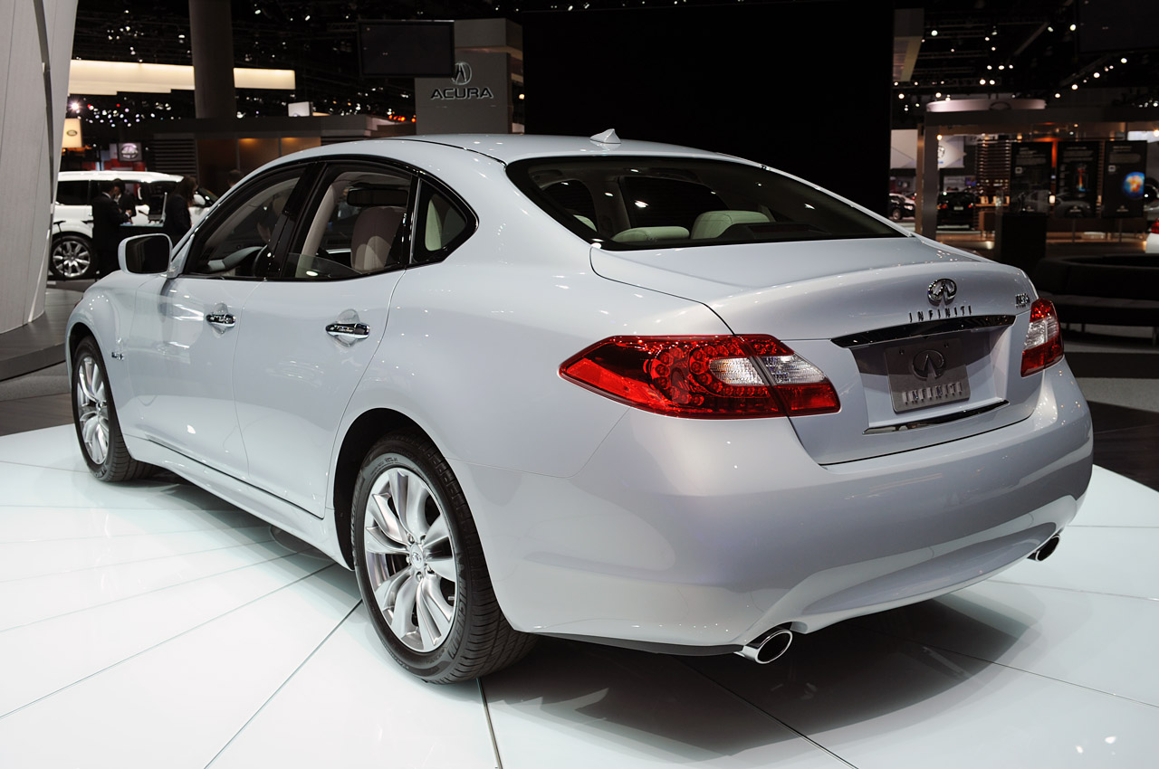 2012 INFINITI M HYBRID HD WALLPAPER