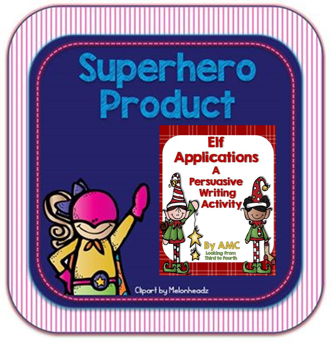https://www.teacherspayteachers.com/Product/Elf-Applications-A-Persuasive-Writing-Activity-1020980