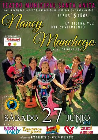 15 años de Nancy Manchego