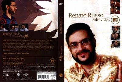 Renato Russo Entrevistas MTV DVD Capa
