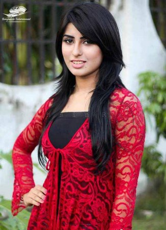 Bangladeshi model and actress Anika Kabir Shokh