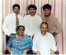 Rajkumar's family