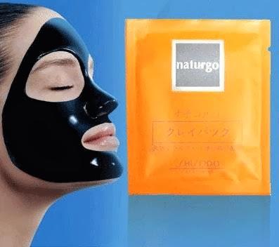 Shisedo Naturgo Mask (Masker Lumpur)
